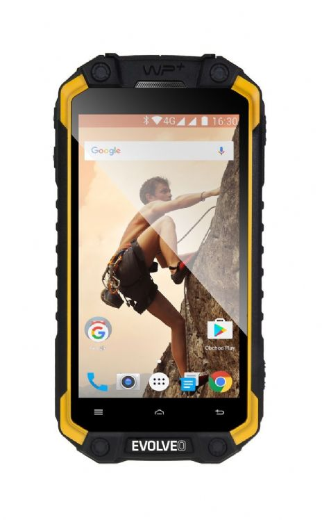"Evolveo StrongPhone Q9 Rugged 4.5"" Android 7.0 Dual SIM 2GB 16GB 4G MIL-STD-810G:2008 - New"
